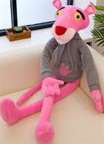 Плюшевая игрушка Розовая Пантера в толстовке купить