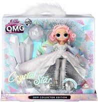 Кукла ЛОЛ Леди Кристалл (L.O.L. Surprise O.M.G. Crystal Star 2019 Collector Edition Fashion Doll) купить в Москве