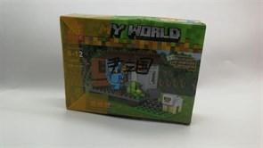 Конструктор Minecraft My World (Майнкрафт) 98 деталей