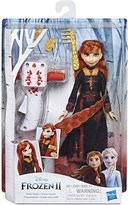 Кукла Анна Холодное сердце (Frozen Sister Styles Anna Fashion Doll with Extra-Long Red Hair Braiding Tool) купить в Москве