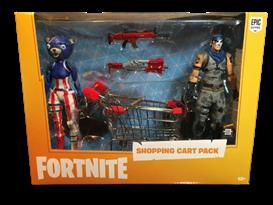 Игровой набор Фортнайт с тележкой для покупок (Fortnite Shopping Cart Bundle Pack) купить оригинал