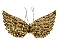 купить Блестящие золотистые крылья для костюма