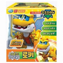 Купить игрушку трансформер Локки из мультфильма Команда Дино
