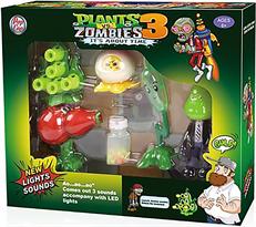 Игровой набор Зомби против Растений 3 (звук и свет) купить