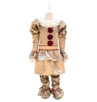 Купить Детский костюм Клоуна Пеннивайза (Оно) коричневый