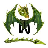 Комплект маска, крылья и хвост Рейгаля дракона из Игры престолов (Game of Thrones) купить в Москве