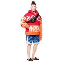 Кукла Кен Barbie BMR1959 Bold Logo Hoodie & Basketball Shorts купить