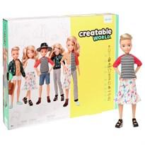 Кукла Creatable World Deluxe Character Kit Customizable Doll (светлые волнистые волосы) купить