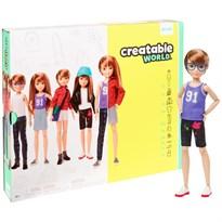 Кукла Creatable World Deluxe Character Kit Customizable Doll (рыжие прямые волосы) купить оригинал
