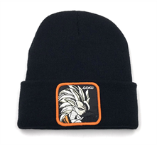 Черная шапка Сон Гоку Драгонболл (Dragonball Z) купить в Москве