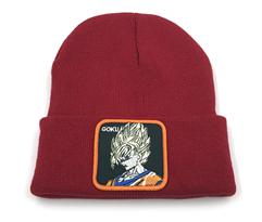 Бордовая шапка Сон Гоку Драгонболл (Dragonball Z) купить в Москве