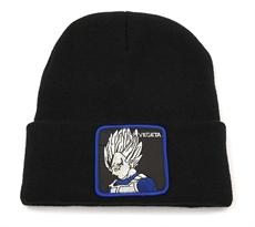 Черная шапка Вегета Драгонболл (Dragonball Z) купить в Москве
