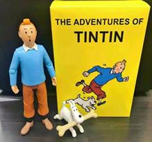 Набор фигурок Приключения Тинтина (The Adventures of Tintin) купить в Москве