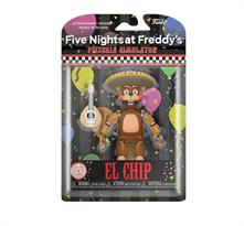 Подвижная фигурка Эль Чип ФНАФ (Funko Action Figure Five Nights at Freddy's Pizza Simulator El Chip) заказать с доставкой