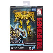 Фигурка Бамблби Трансформеры (Transformers Toys Studio Series 49 Deluxe Class Bumblebee Action Figure) купить в Москве