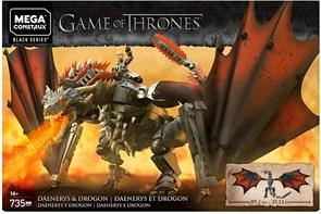 Конструктор Дейенерис и Дрогон Игра престолов (Game of Thrones Daenerys and Drogon) купить в Москве