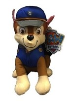 Мягкая игрушка Чейз Щенячий патруль (Paw Patrol Plush Chase) 35 см купить