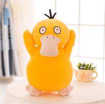 Мягкая игрушка покемон Псидак (Psyduck) с круглыми глазами 40 см купить в Москве