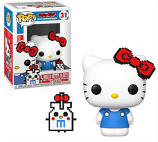 Фигурка Китти Funko Pop & Buddy Hello Kitty 8 Bit 45th Anniversary Vinyl Figure №31 купить коллеционную фанко поп