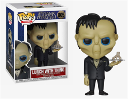 Фигурка Фанко поп Ларч Семейка Аддамс (Funko Pop Addams Family Lurch with Thing) №805 купить