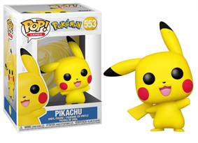 Фигурка Фанко поп Пикачу (Funko Pop Pokemon Pikachu Waving) № 553
