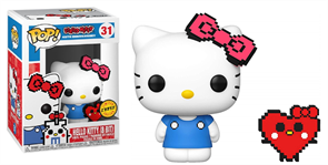 Фигурка Китти Pop Sanrio: Anniversary Hello Kitty with Heart Buddy Limited Chase Edition №31 купить