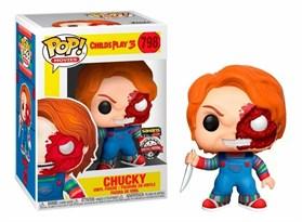 Фигурка Кукла Чаки Детские игры (Chucky Child's Play Half Face POP) №798 купить оригинал