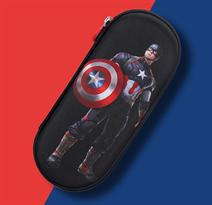 Черный пенал Капитан Америка (Captain America) купить в Москве