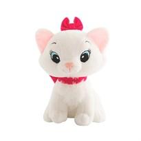 Плюшевая кошка с розовый бантом