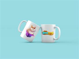 Кружка с Котом из игры Homescapes купить