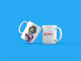 Кружка с персонажами игры Kerbal Space Program купить