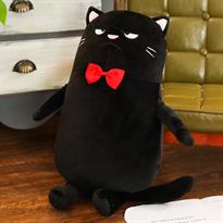 Мягкая игрушка Злой кот (черный 60 см) купить в Москве