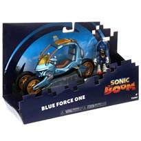 Игровой набор Ежик Соник и автомобиль (Sonic Boom Blue Force One 3-in-1 Toy Vehicle)