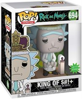 Фигурка Funko Pop Король на унитазе (Rick and Morty - King of $#!+) со звуком №694