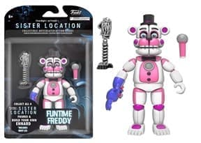 5 Ночей Фреди Funtime Freddy Articulated Action Figure, 5