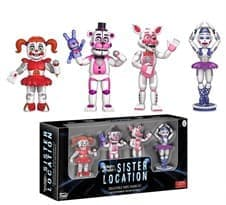 5 Ночей Фреди  Sister Location Set 1 Action Figure