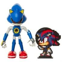 Подвижная фигурка Металлический Соник (Sonic the Hedgehog - Super Sonic) 10 см