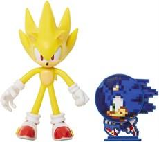 Подвижная фигурка Супер Соник ( Sonic the Hedgehog - Metal Sonic) 10 см