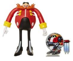 Подвижная фигурка Доктор Эггман (Sonic the Hedgehog - Dr Eggman) 10 см