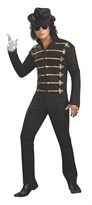 Черная куртка Майкла Джексона  (Black Military Jacket Adult Michael Jackson Jacket)