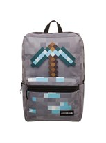 Рюкзак с пиксельной киркой Майнкрафт (Minecraft Diamond Pickaxe Backpack)