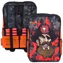Пиратский Рюкзак для хранения пуль, совместимый с Нерф