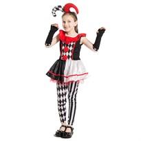 Костюм клоуна (шута) для девочки