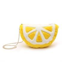Плюшевая сумка Лимон