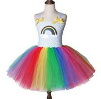 Карнавальный костюм Платье радуга
