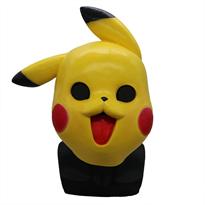 Купить маску Покемона Пикачу с черными глазами
