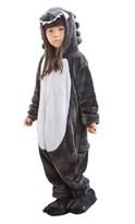 Кигуруми костюм серый волк детский
