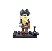 Фигурка Морской дьявол (Davy Jones) совместима с лего из фильма Пираты Карибского моря