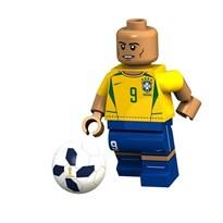 Фигурка футболист Роналдо (Ronaldo) Луис Назарио де Лима совместима с лего купить в Росии