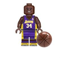 Фигурка баскетболист Шакил Рашоун О'Нил совместима с лего купить в Росии